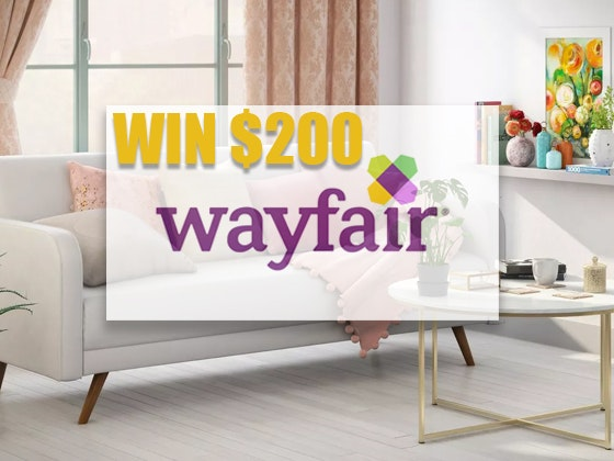 $200 Wayfair.com sweepstakes