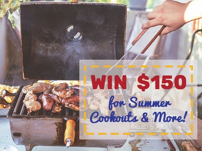 $150 Cash Prize June 2019 sweepstakes