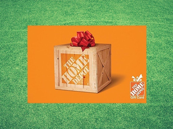 $500 Home Depot Gift Card - June sweepstakes