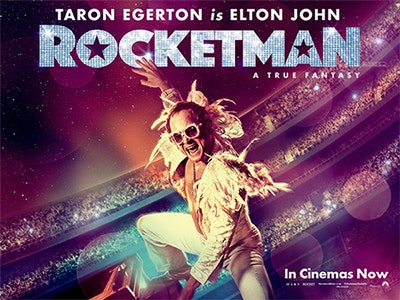 ROCKETMAN goody bags!  sweepstakes