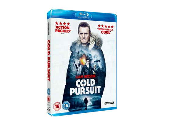 COLD PURSUIT ON BLU-RAY sweepstakes