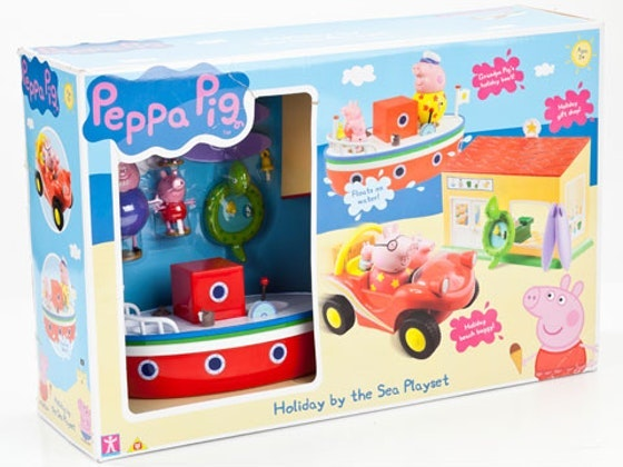 Peppa Pig Holiday by the Sea Playset sweepstakes