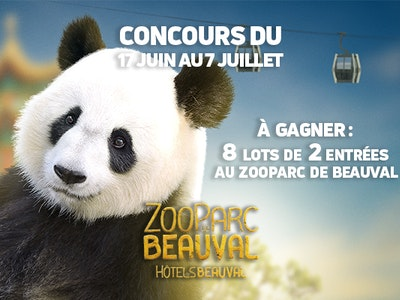 jeu concours ZooParc de Beauval