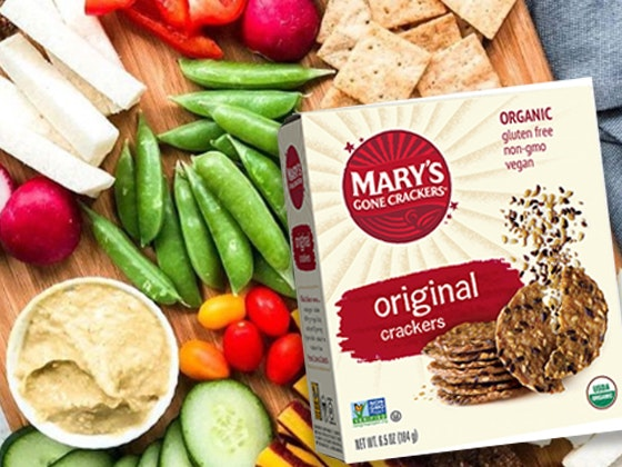 Mary's Gone Crackers sweepstakes