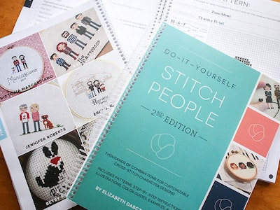 """Do-It-Yourself Stitch People"" Book sweepstakes"