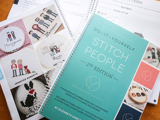 """""""Do-It-Yourself Stitch People"""" Book sweepstakes"""