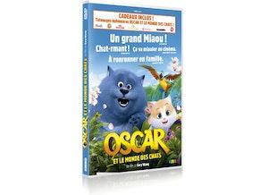 Oscar et le monde des chats dvd