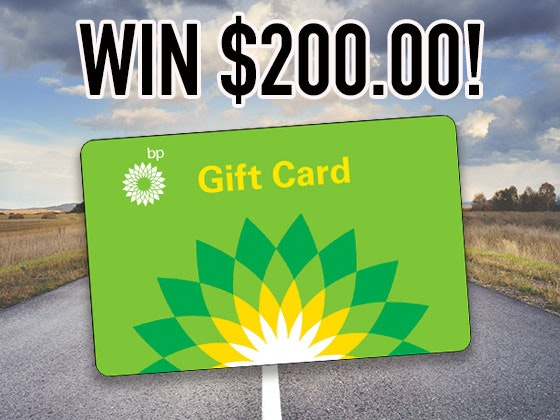 $200 BP Gas Gift Card 2019 sweepstakes