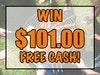 $101 Cash July 2019 sweepstakes