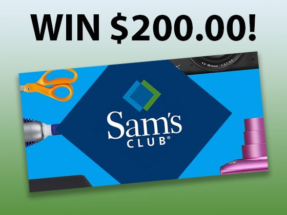 Sam's - July 2019 sweepstakes