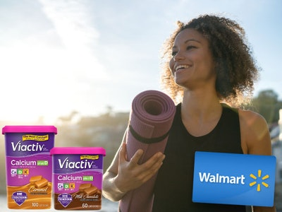 Viactiv Digestive Health Soft Chews & a $100 Walmart Gift Card sweepstakes