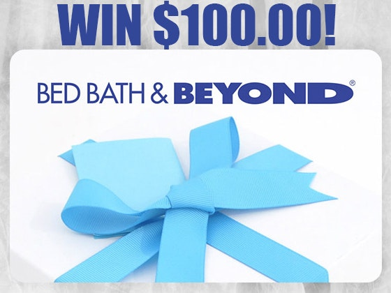 Back To School $100 Bed Bath & Beyond Gift Card! sweepstakes