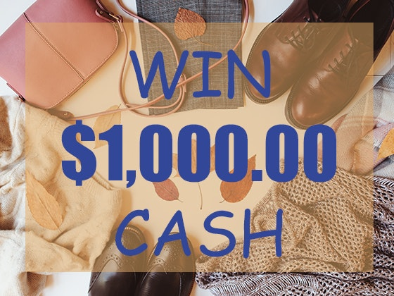 $1000 Cash August 2019 sweepstakes