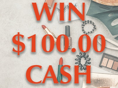 $100 Cash Prize August 2019 sweepstakes