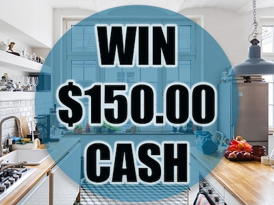 $150 Cash Prize August 2019 sweepstakes