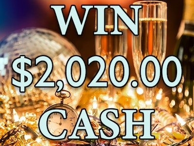$2020 CASH sweepstakes