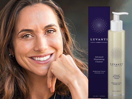 Luvanti Illuminating Cleanser sweepstakes