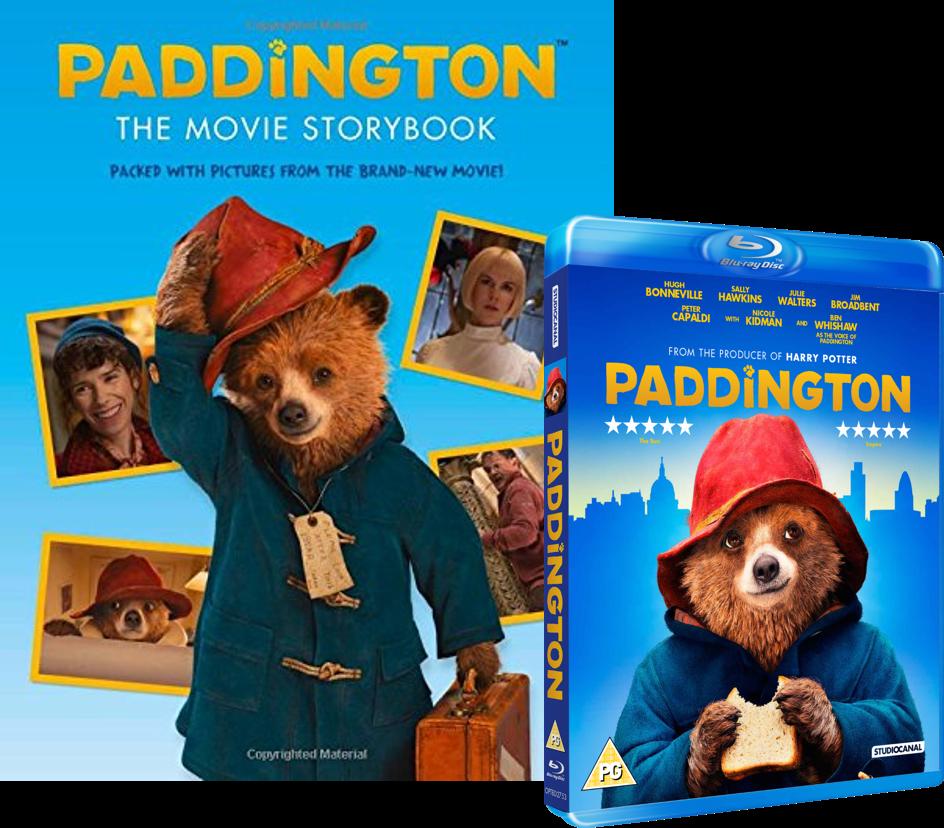Movie story book bluray