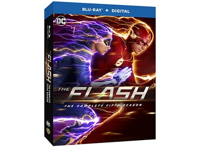 The Flash: The Complete Fifth Season on Blu-ray sweepstakes