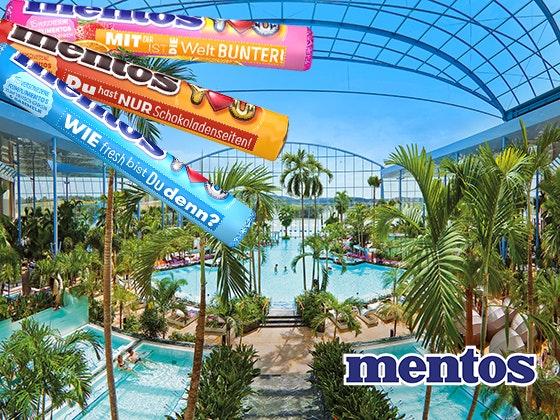 Wellnesstrip mit Mentos gewinnen Gewinnspiel