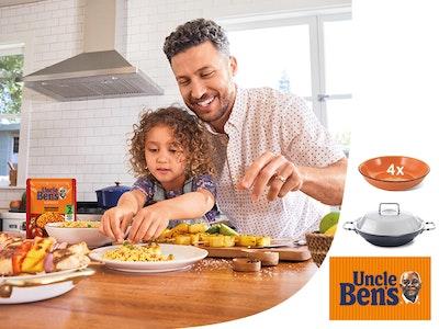 Küchenspaß mit Uncle Ben's Gewinnspiel