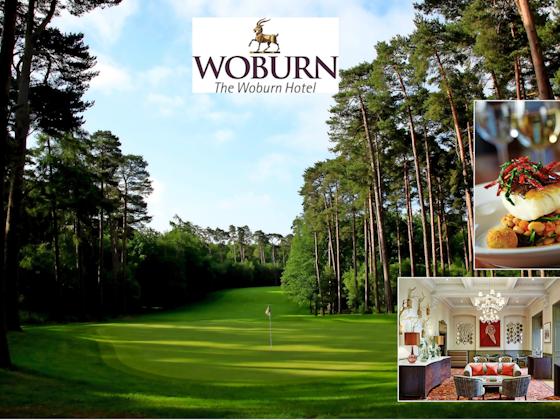 WIN A Luxury Woburn Golf Break sweepstakes