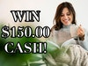 $150 Cash Prize September 2019 sweepstakes