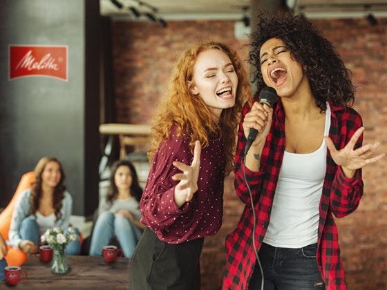 Melitta®: Gewinne Kaffee&Karaoke Gewinnspiel
