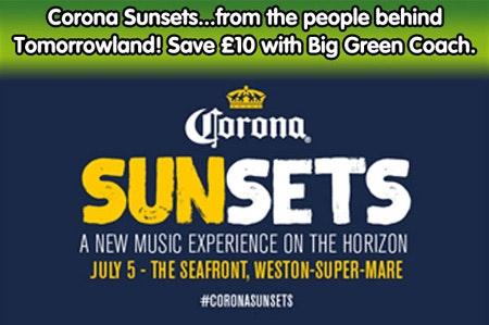 Corona sunset