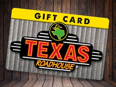 Texas Roadhouse Weekly Prize sweepstakes