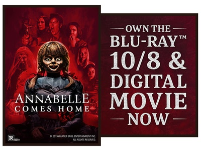 Annabelle Comes Home on Digital sweepstakes
