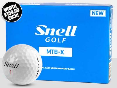 Win six dozen Snell MTB X Balls sweepstakes