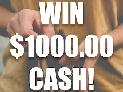 $1000 Cash October 2019 sweepstakes