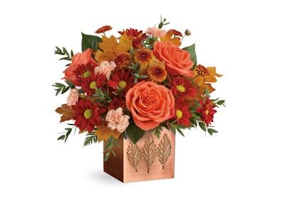 Teleflora Copper Petals Bouquet sweepstakes