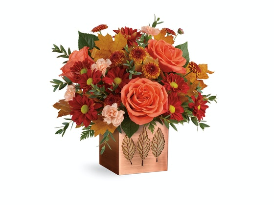 Teleflora Copper Petals Bouquet sweepstakes