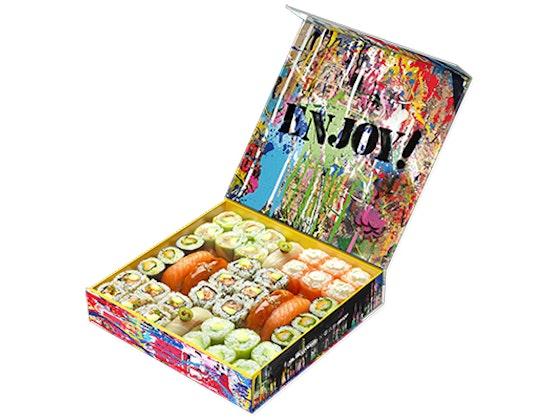 jeu concours 3 box Sushi Shop x Brainwash