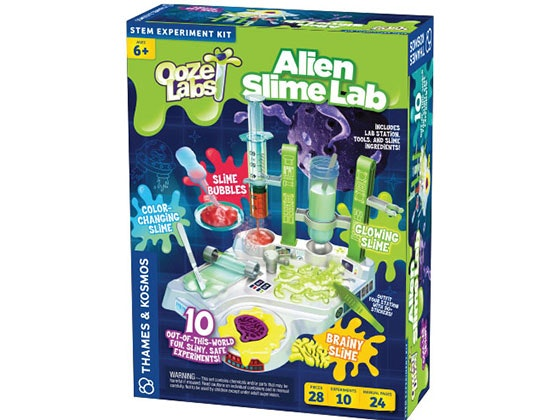 Ooze Labs: Alien Slime Lab sweepstakes