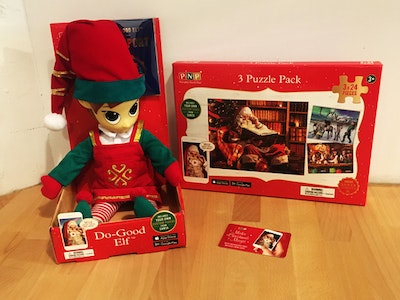 Portable North Pole sweepstakes