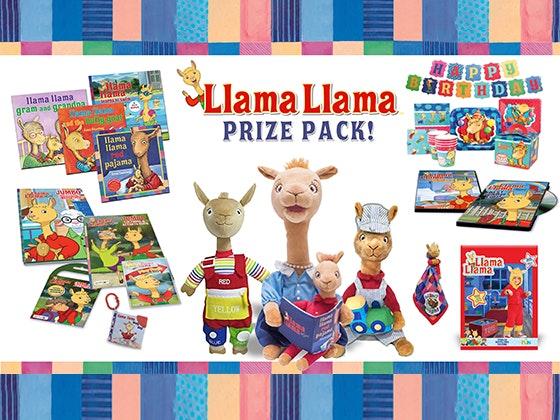 Llama Llama Red Pajama sweepstakes
