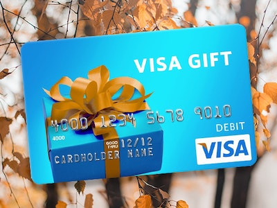 Visa Gift Card sweepstakes