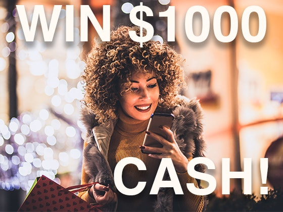Win a $1000 Cash Prize! November 2019 sweepstakes