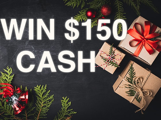 Win a $150 Cash Prize! November 2019 sweepstakes