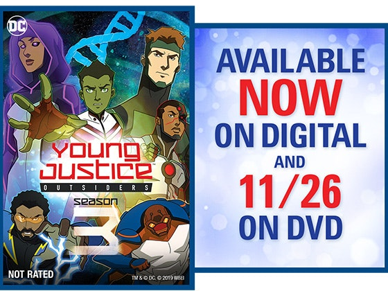 Young Justice Outsiders: The Complete Third Season sweepstakes