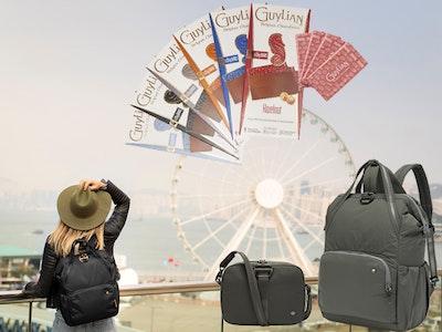 Pacsafe Taschen & Guylian Tafeln Gewinnspiel
