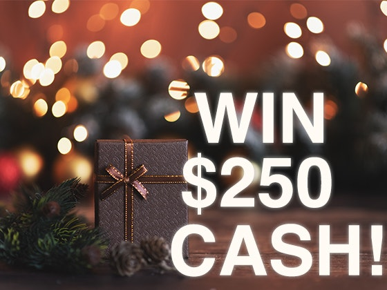 Win a $250 Cash Prize for November 2019 sweepstakes