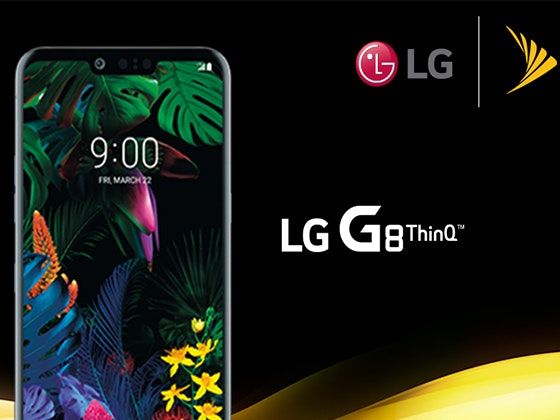 LG G8 ThinQ from Sprint sweepstakes