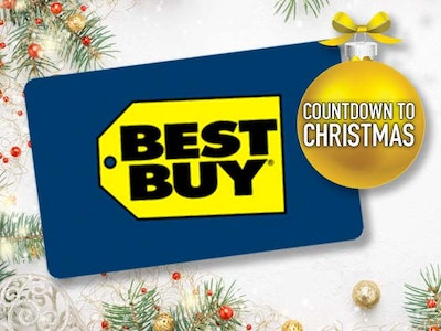 $300 Best Buy Gift Card - December sweepstakes