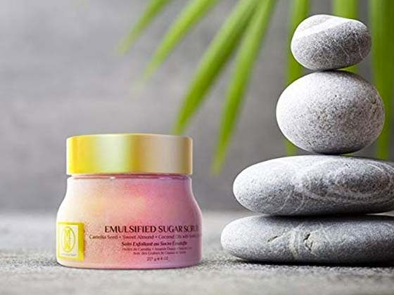 Emulsified Sugar Scrub From OMM Collection sweepstakes