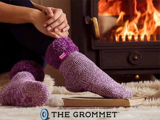 Heat Holders Brushed Thermal Lounge Socks sweepstakes