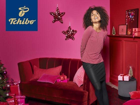 Stylische Weihnacht mit Tchibo Gewinnspiel